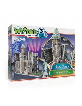 Wrebbit New York Collection 3D Puzzle Financial