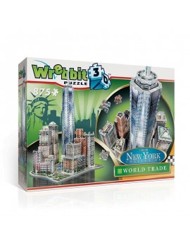 Wrebbit New York Collection 3D Puzzle World Trade