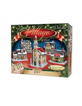 Wrebbit Panel Collection 3D Puzzle Christmas Village