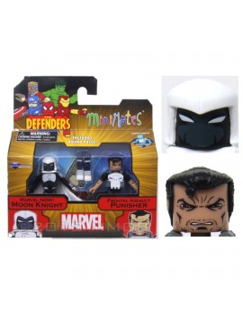 Marvel Action Figure Moon Knight e Punisher