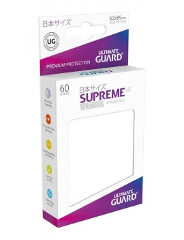 Ultimate Guard Supreme UX Sleeves Japanese Size White (60)