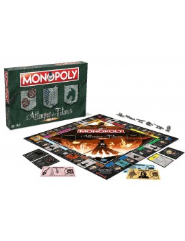 Attack on Titan Board Game Monopoly *French Version*