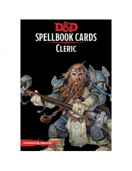 Dungeons & Dragons Spellbook Cards: Cleric Deck *English Version*
