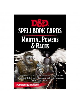 Dungeons & Dragons Spellbook Cards: Martial Deck *English Version*