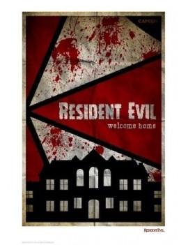Resident Evil Art Print Welcome Home 42 x 30 cm
