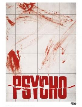 Alfred Hitchcock Art Print Psycho 42 x 30 cm