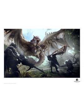Monster Hunter Art Print 42 x 30 cm