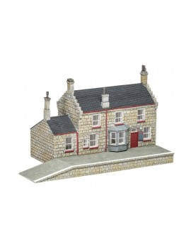 Harry Potter Model Railway Building 1/76 Hogsmeade Station - Station Building
