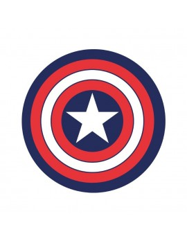 Marvel Carpet Captain America 80 cm