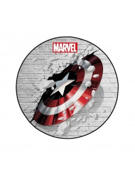 Marvel Carpet Captain America Shield 80 cm
