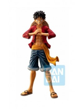 One Piece Ichibansho PVC Statue The Bonds of Brothers Luffy 28 cm