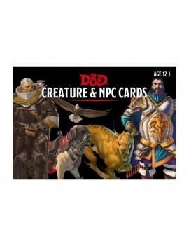 Dungeons & Dragons Monster Cards: Creature & NPC *English Version*