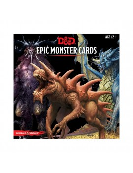 Dungeons & Dragons Monster Cards: Epic Monsters *English Version*