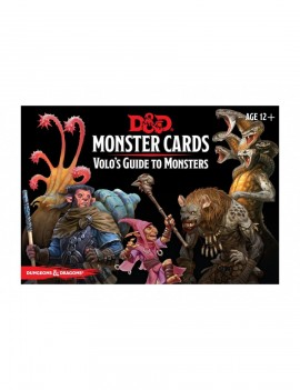 Dungeons & Dragons Monster Cards: Volo's Guide to Monsters *English Version*