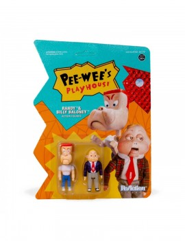 Pee-wee's Playhouse ReAction Action Figure 2-Pack Randy & Billy Baloney
