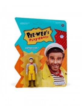 Pee-wee's Playhouse ReAction Action Figure Captain Carl 10 cm