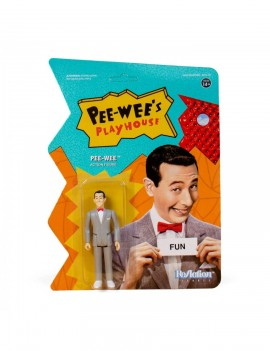 Pee-wee's Playhouse ReAction Action Figure Pee Wee 10 cm