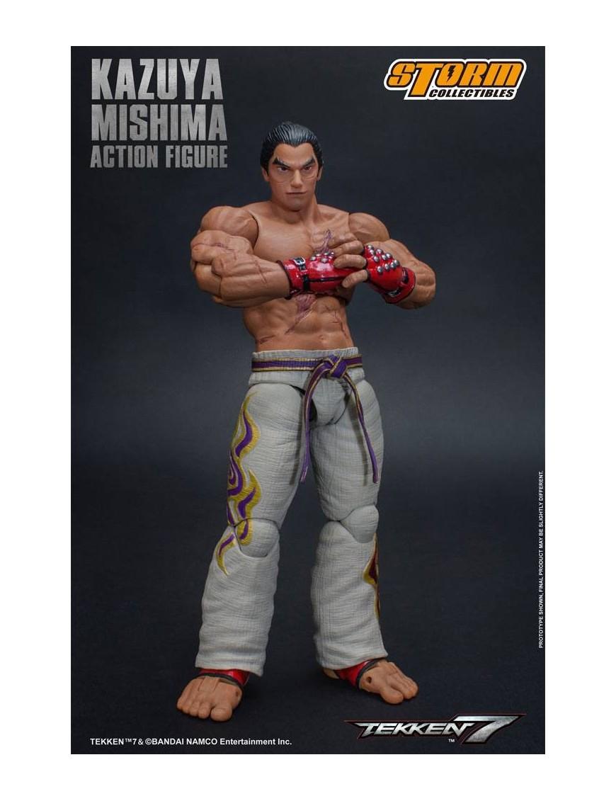 Tekken 7 Action Figure 1 12 Kazuya Mishima 17 Cm