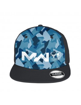 Call of Duty: Modern Warfare Snapback Cap Logo Blue