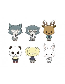 Beastars Chokorin Mascot Series Trading Figure 5 cm Assortment (6)