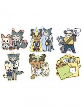 Beastars Rubber Mascot 6 cm Assortment (6)