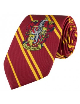 Harry Potter Kids Woven Necktie Gryffindor New Edition