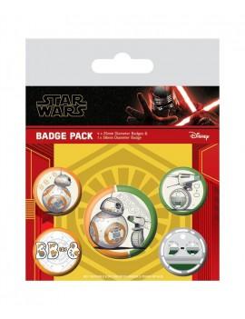 Star Wars Episode IX Pin Badges 5-Pack Droids