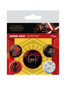 Star Wars Episode IX Pin Badges 5-Pack Sith