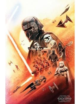 Star Wars Episode IX Poster Pack Kylo Ren 61 x 91 cm (5)