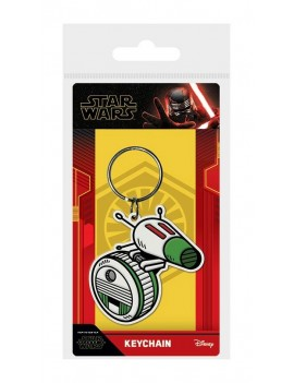Star Wars Episode IX Rubber Keychain D-O 6 cm