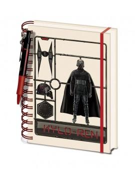 Star Wars Episode IX Wiro Notebook A5 Airfix Kylo