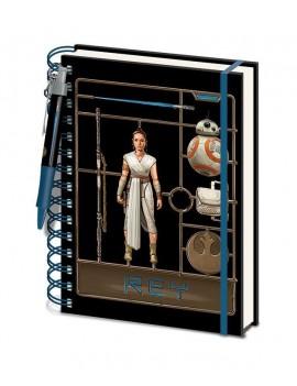 Star Wars Episode IX Wiro Notebook A5 Airfix Rey