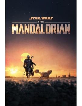 Star Wars The Mandalorian Poster Pack Dusk 61 x 91 cm (5)