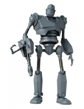 The Iron Giant Diecast Action Figure Battle Mode Version Previews Exclusive 16 cm
