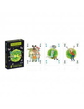 Rick & Morty Number 1 Playing Cards *English Packaging*