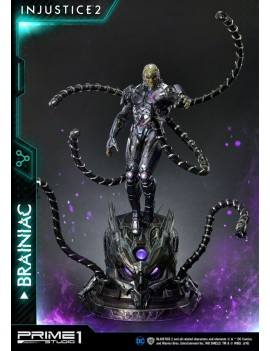 Injustice 2 Statue 1/4 Brainiac 75 cm