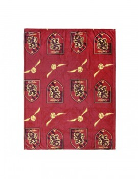 Harry Potter Fleece Blanket Gryffindor 120 x 160 cm