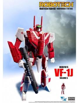 Robotech Veritech Micronian Pilot Collection Action Figure 1/100 Miriya Sterling VF-1J 15 cm