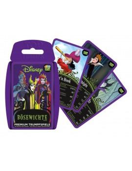 Disney Villains Card Game Top Trumps *German Version*