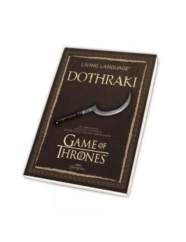 Game of Thrones Book Living Language Dothraki *German Version*