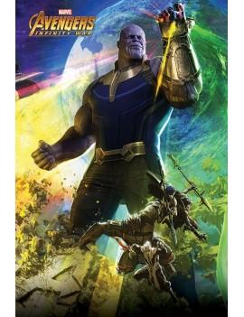 Avengers Infinity War Poster Pack Thanos 61 x 91 cm (5)