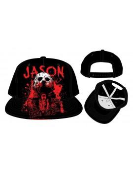 Friday the 13th Snap Back Cap Jason