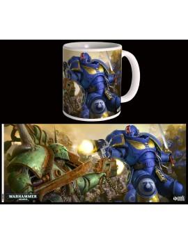 Warhammer 40K Mug Ultramarines VS Nurgle