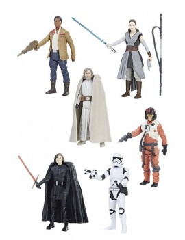 Star Wars Episode VIII Force Link Action Figures 10 cm 2017 Orange Assortment Wave 1 Assortment (12)