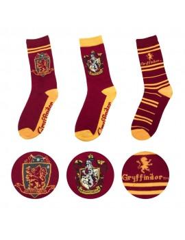 Harry Potter Socks 3-Pack Gryffindor