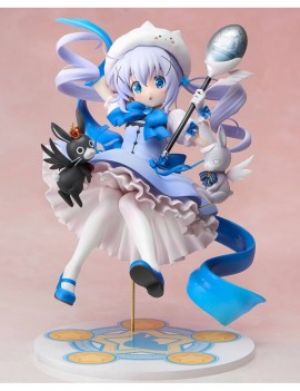 Is the Order a Rabbit PVC Statue 1/7 Mahou Shoujo Chino 21 cm