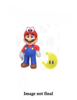 World of Nintendo Action Figure Wave 15 Odyssey Mario with Moon 10 cm