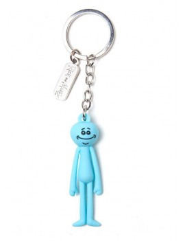 Rick & Morty 3D Rubber Keychain Meeseeks 7 cm