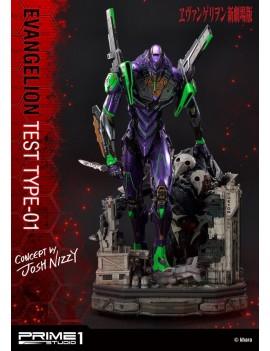 Neon Genesis Evangelion Statue Test Type-01 Concept by Josh Nizzi 68 cm
