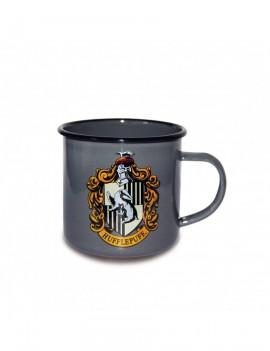 Harry Potter Enamel Mug Hufflepuff Logo
